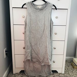 Cloth and Stone Grey Hi Low Dress